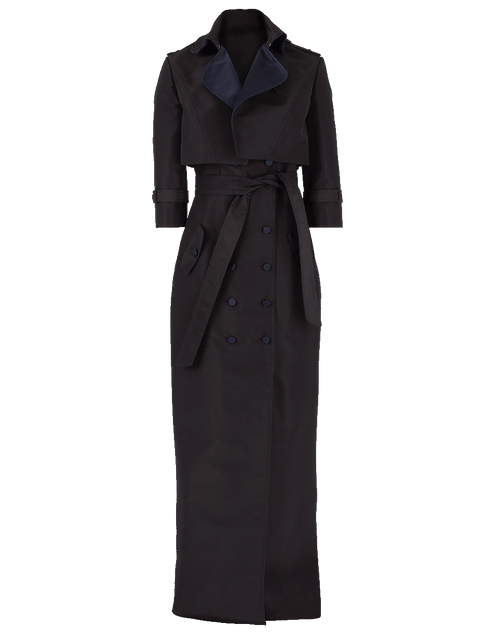 ATELIER HERVE PIERRE CLOTHINGDRESSGOWN Tuxedo Gown With Cropped Jacket