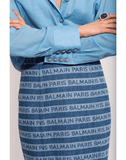 BALMAIN CLOTHINGSKIRTMISC High Waist Balmain Logo Skirt