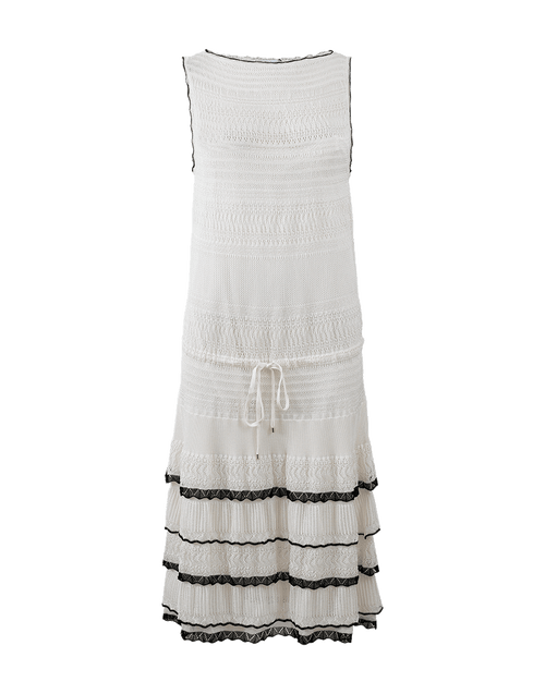 BLUMARINE CLOTHINGDRESSCASUAL LATTE / 44 Knit Dress