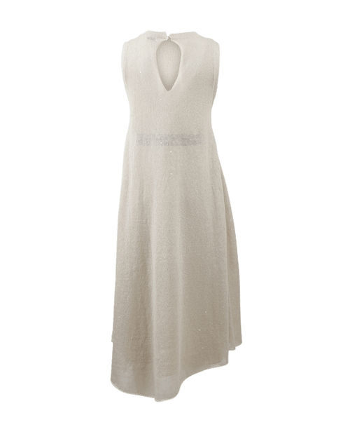 BRUNELLO CUCINELLI CLOTHINGDRESSCASUAL Linen Pailette Dress