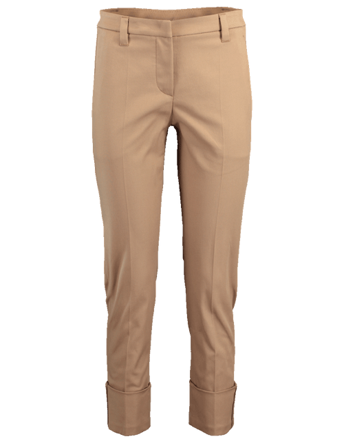 BRUNELLO CUCINELLI CLOTHINGPANTMISC Cotton Twill Cuff Pant
