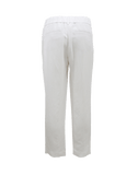 BRUNELLO CUCINELLI CLOTHINGPANTMISC Linen Front Pleat Pull-On Pant