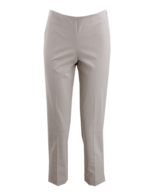 BRUNELLO CUCINELLI CLOTHINGPANTMISC Side-Zip Cotton Ankle Pants