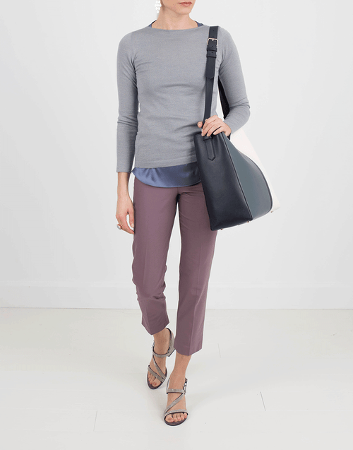 BRUNELLO CUCINELLI CLOTHINGPANTMISC Stretch Side Zip Pant