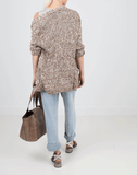 BRUNELLO CUCINELLI CLOTHINGTOPCARDIGAN Paillette Blend Boyfriend Cardigan