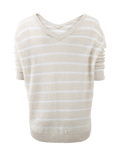 BRUNELLO CUCINELLI CLOTHINGTOPMISC Stripe And Sequin Sweater
