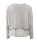 BRUNELLO CUCINELLI CLOTHINGTOPSWEATER Cashmere Pullover With Ruffle