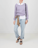 BRUNELLO CUCINELLI CLOTHINGTOPSWEATER Mohair And Lurex Pullover