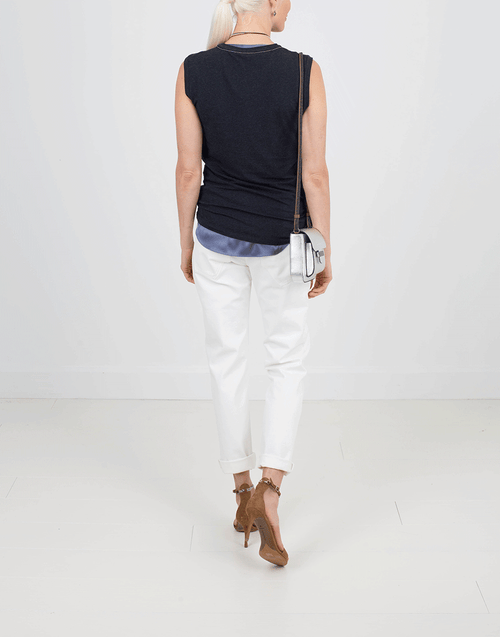 BRUNELLO CUCINELLI CLOTHINGTOPT-SHIRT Flat Muscle Tee