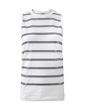 BRUNELLO CUCINELLI CLOTHINGTOPTANK Pailette Stripe Tank Top