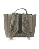 BRUNELLO CUCINELLI HANDBAGTOP HANDLE BAY LEAF Top Handle Feather Bag