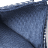 BRUNELLO CUCINELLI MENSACCESSORYMISC BLUE Striped Silk Pocket Square