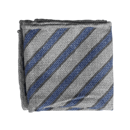 BRUNELLO CUCINELLI MENSACCESSORYMISC GRY BLUE Pocket Square