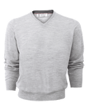 BRUNELLO CUCINELLI MENSCLOTHINGSWEATER V-Neck Fine Gauge Sweater