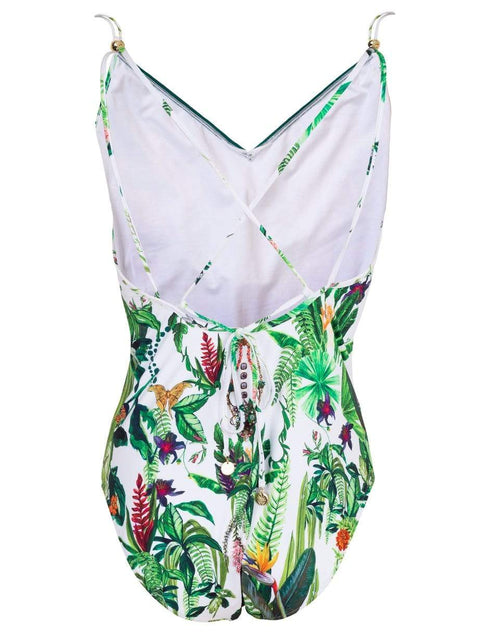 CAMILLA CLOTHINGMISC Daintree Darling Tie Back One Piece Swimsuit