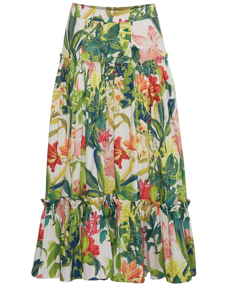 CARA CARA CLOTHINGSKIRTMAXI Rainforest Tisbury Skirt