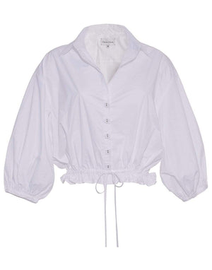 CARA CARA CLOTHINGTOPBLOUSE White Hutton Top