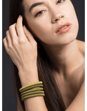 CAROLINA BUCCI JEWELRYFINE JEWELBRACELET O YELLOW Yellow Twister Band Bracelet