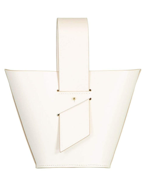 CAROLINA SANTO DOMINGO HANDBAGSHOULDER OFFWHITE Amphora Mini Top Handle Bag