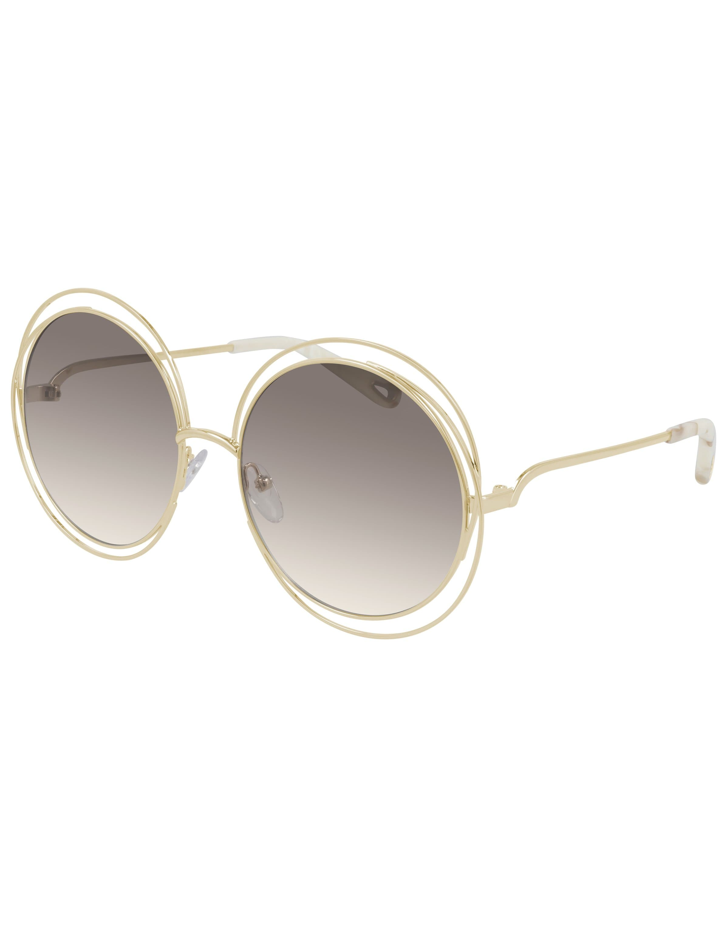 Image of CH0045S 005 Shiny Gold Sunglasses