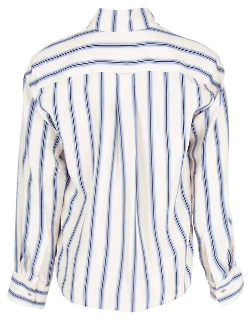 CHLOE CLOTHINGTOPBLOUSE Neck Tie Striped Blouse