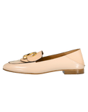 CHLOE SHOEMISC Shiny Calfskin Loafer
