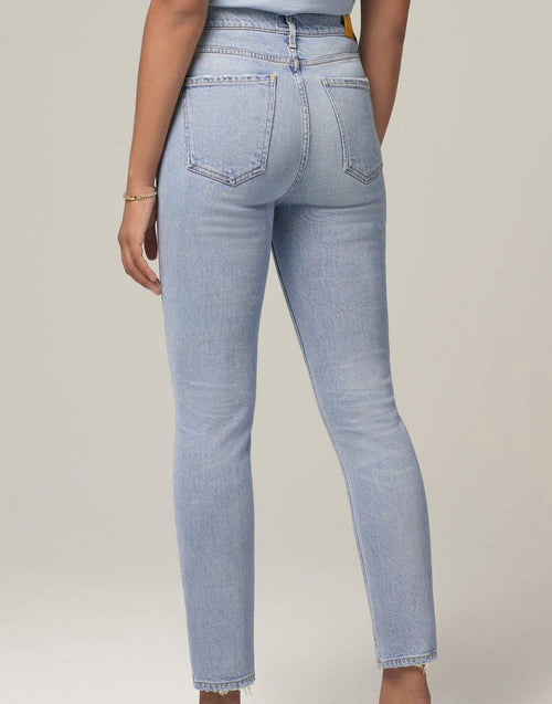 CITIZENS of HUMANITY CLOTHINGPANTDENIM Olivia High Rise Slim Ankle Jean