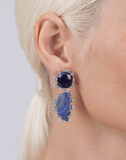 DANA REBECCA DESIGNS JEWELRYFINE JEWELEARRING WHTGOLD Courtney Lauren Sapphire Earrings