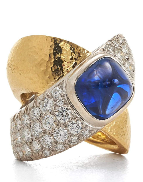 DAVID WEBB JEWELRYFINE JEWELRING 6.25 / YLWGOLD X Ring