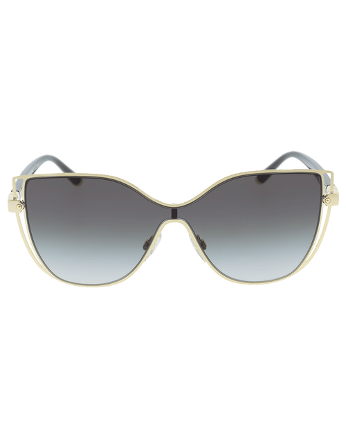 DOLCE & GABBANA ACCESSORIESUNGLASSES GOLD Shield Sunglasses