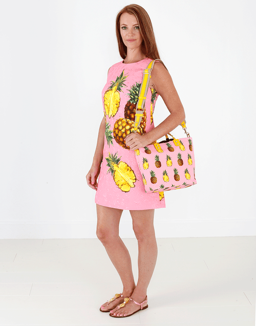 DOLCE & GABBANA CLOTHINGDRESSMISC Brocade Pineapple Dress