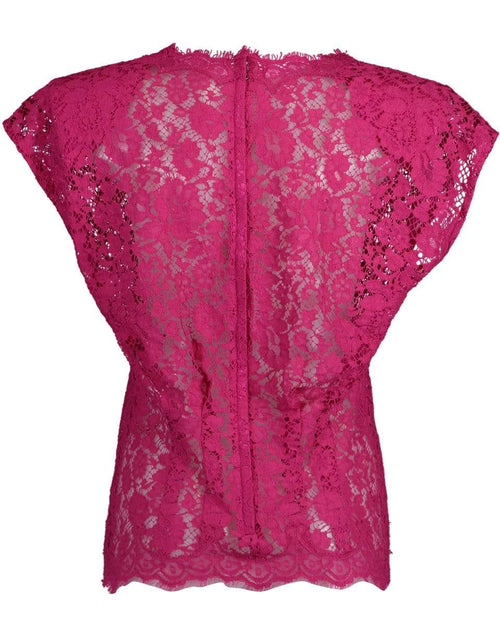 DOLCE & GABBANA CLOTHINGTOPMISC Padded Shoulder Lace Top