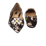 DOLCE & GABBANA SHOEFLAT SHOE Bellucci Jewel Toe Flat