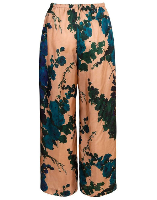DRIES VAN NOTEN CLOTHINGPANTMISC Puvis Print Silk Pant