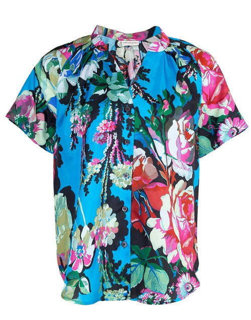 DRIES VAN NOTEN CLOTHINGTOPMISC Chen Short Sleeve Floral Top
