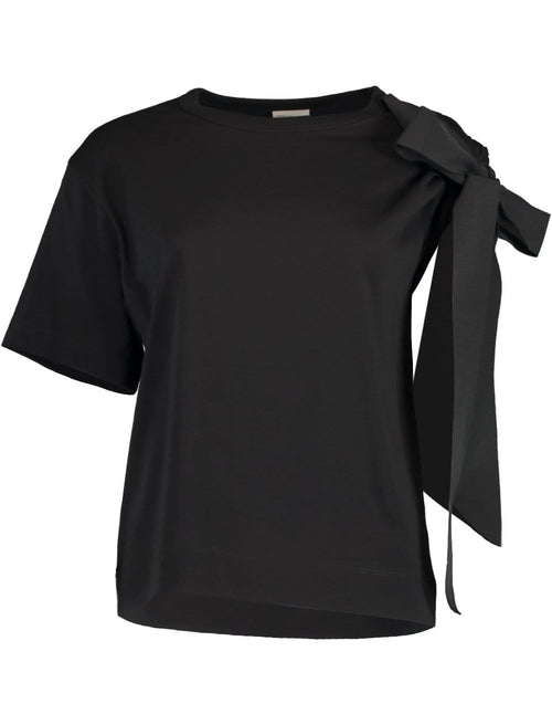 DRIES VAN NOTEN CLOTHINGTOPT-SHIRT Horta One Shoulder Sleeve Tie Top