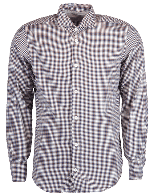 ELEVENTY MENSCLOTHINGSHIRT Gingham Button Down Shirt