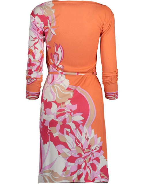 EMILIO PUCCI CLOTHINGDRESSCASUAL Vahne Print Boatneck Dress