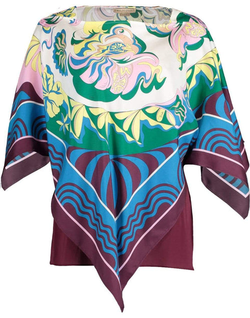 EMILIO PUCCI CLOTHINGTOPMISC Poncho Top with Cami