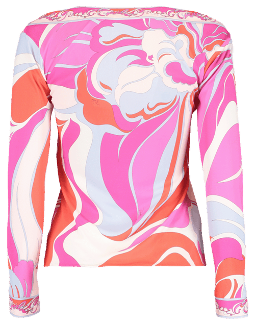 EMILIO PUCCI CLOTHINGTOPMISC Riviera Bateau Neck Top