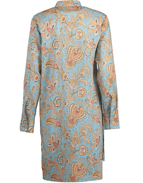 ETRO CLOTHINGDRESSCASUAL Paisley Print Beach Shirt Dress