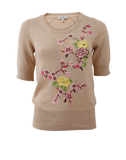 ETRO CLOTHINGTOPSWEATER Floral Embroidered Knit Pullover