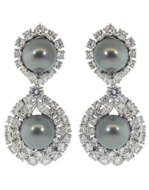 FANTASIA by DESERIO JEWELRYBOUTIQUEEARRING W VPRLCZ Pearl Drop Earrings