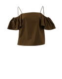 FENDI CLOTHINGTOPMISC Hawk Off Shoulder Top