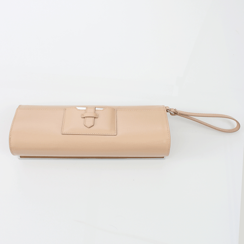 FENDI HANDBAGCLUTCHES SAND Evening Small Pouchette Bag