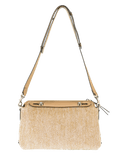 FENDI HANDBAGSHOULDER NATURAL Raffia By The Way Bag