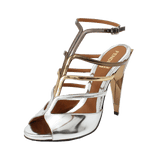 FENDI SHOESANDAL Strappy Metallic Diamond Sandal