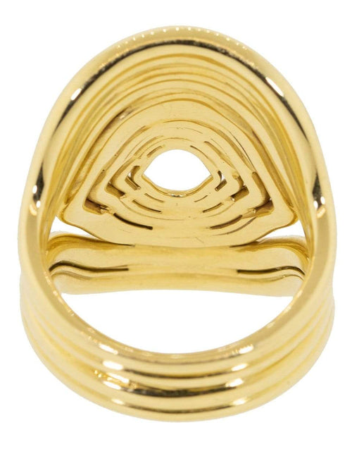 FERNANDO JORGE JEWELRYFINE JEWELRING YLWGOLD / 7.75 Rounded Lines Ring