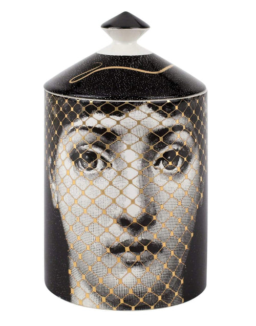 FORNASETTI ACCESSORIEGIFT GLDBRLSQ Golden Burlesque Scented Candle