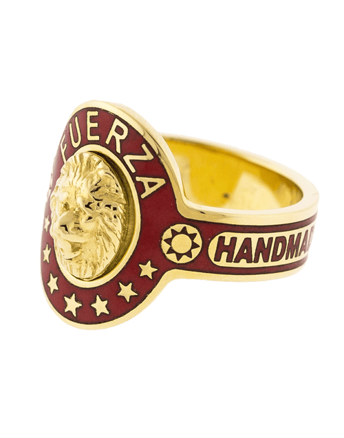 FOUNDRAE JEWELRYFINE JEWELRING YLWGOLD / 7 Strength Cigar Band Ring